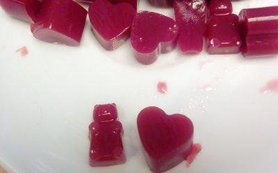 Gominolas de fruta sin azúcar